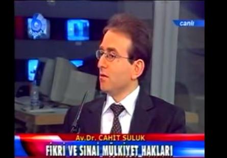 Fikri ve Sınai mülkiyet hakları – Köşebaşı Programı Av.Dr. Cahit Suluk